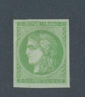FRANCE - N°YT 42B NEUF* AVEC CHARNIERE - 1870 - 1870 Emission De Bordeaux