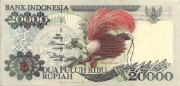 INDONESIE 20000 RUPIAH 1995 AUNC P 135 - Indonesia