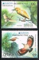 2019 - SERBIA - EUROPA CEPT / GLI UCCELLI / THE BIRDS - USATO / USED - Serbia