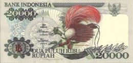 INDONESIE 20000 RUPIAH 1995 UNC P 135 - Indonésie