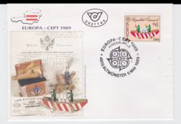 Austria 1989 FDC Europa CEPT (G105-36) - Europa-CEPT