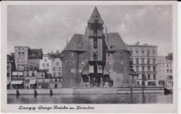 German SS Feldpost WW2: Postcard Danzig From A SS Sturmmann At B.Kompanie At The SS Wachkompanie - Militaria