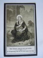 Doodsprentje Marie-Elisabeth Janssen Reckheim 1870 +Vestinglazaret Luik 1916 Echtg Theodoor Boutsen - Andachtsbilder