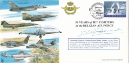 50 Years Of JET FIGHTERS In The BELGIAN AIR FORCE - Airplanes