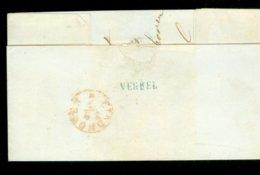 POSTHISTORIE * VOORLOPER * BRIEFOMSLAG Uit 1853 Van LANGSTEMPEL VEGHEL Naar EINDHOVEN (11.624) - 1852-1890 (Guillaume III)