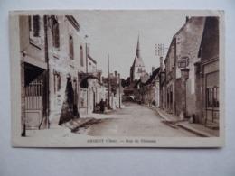 18 ARGENT-Sur-SAULDRE Rue De CLEMONT - Argent-sur-Sauldre