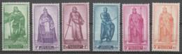 Belgie     .      OBP    .   737/742   .    *      Ongebruikt Met Gom   .   /   .   Neuf Avec Gomme - Unused Stamps