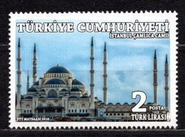 2018 TURKEY ISTANBUL CAMLICA MOSQUE MNH ** - 1921-... Repubblica