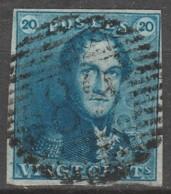 Belgie     .      OBP    .    2   . P89     .    O        Gebruikt   .   /   .   Oblitéré - 1849 Epaulettes