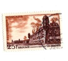 1042 Patrimoine - Angle - Cité - Murailles - Remparts - Tours - Brouage - Charente-maritime - - Usados