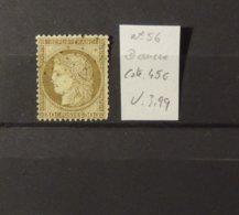11 - 19 // France N°56 Avec Oblitératrion Ancre - Cote 45 Euros - 1871-1875 Cérès
