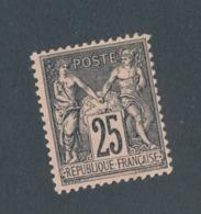FRANCE - N°YT 97 NEUF** SANS CHARNIERE - 1886 - 1876-1898 Sage (Type II)