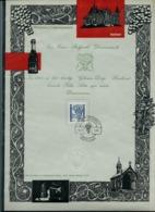 Format A4 Du N° 1353  Raisin De HOEILAART  Obl. 13/11/1965 - FDC