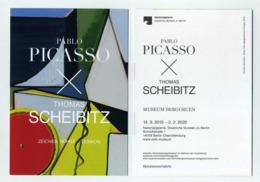 CP Pub Allemande : Pablo Picasso X Thomas Scheibitz - Zeichen Bühne Lexikon - Deutschland