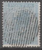 Belgie     .      OBP    .    18A   Stempel!  .     O        Gebruikt   .   /   .   Oblitéré - 1865-1866 Profile Left