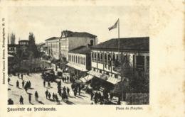 Turkey, TRABZON TRÉBIZONDE, Place Du Meydan (1899) Postcard - Turquie