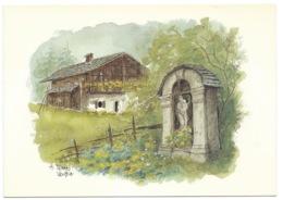 CARTE POSTALE / HABITAT MONTAGNARD / CHALET ALPES / TERRA VECCHIA - Architectuur