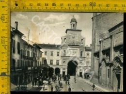 Cremona Crema Piazza Duomo (lieve Macchia) - Cremona