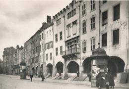 57) METZ : Platz Unter Den Begen - Place St-Louis (Carte Seconde Guerre) - Kiosque - WW2 - Metz