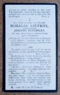 Rosalia Lievens, Echtgenoote Van Joannes Hendrickx / Larum-Gheel 24 Januari 1873 - 29 Januari 1925 - Décès