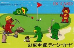 JAPON. SPORTS. DC Card. GOLF. JP-110-157117.3. (094) - Sport
