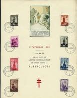 Format A4  Des N° 519/26  Beffrois   Obl. Bxl 01/12/39 - ....-1951