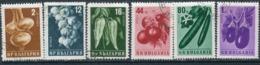 Y85 Bulgaria 1958 1079-1084 Vegetables. Plants. Flora. Agriculture - Vegetables