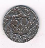 50 GROSZY 1938 (gubernator) POLEN /8638/ - Poland