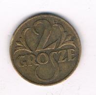 2 GROSZY 1923 POLEN /8639/ - Poland