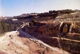 Jerusalem - Kidron Valley - Formato Piccolo Non Viaggiata – E 14 - Cartoline