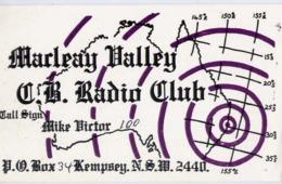 Marleay Dalley G.b. Radio Club - Kempsey N.s.m. -formato Piccolo Viaggiata – E 14 - Cartoline
