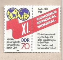 DDR - Serie Completa Nuova MNH Michel 3049: Congresso Scientifico - 1986 * G - Nuovi