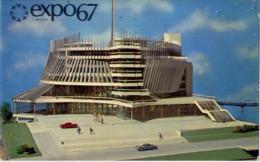 Montreal - Canada - Expo67 - Pavillon De La France - Formato Piccolo Viaggiata – E 14 - Cartoline