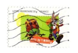 4603 Dessin Animé - Warner Bros - Animaux - Personnage - Fête Du Timbre - Lapin - Canard - Bunny - Dafy Duck - Sac à Dos - Frankreich