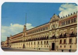 Palacio Nacional De La Ciudad De Mexico - Formato Piccolo Viaggiata Mancante Di Affrancatura – E 14 - Cartoline