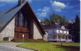 Saint Donat C'est Tour Naturell  L'eglise Et Le Presbytere - Canada - Formato Piccolo Viaggiata – E 14 - Cartoline