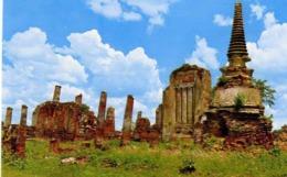 Thailand - Ruins Of The Palace Called  - Formato Piccolo Non Viaggiata - E 14 - Cartoline