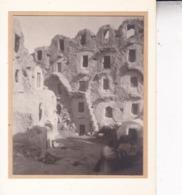 MEDENINE TUNISIE Ambiance De Rue 1923. Photo Amateur Format Environ 5,5 Cm X 5 Cm - Luoghi