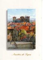 69 LYON Monte Des Chazeaux Et Cathedrale St Jean , Illustrateur Allain Renoux - Altri