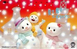 "JAPON. ""Look, Look... Sapporo"" - Snow Man Family. 12/1993. JP-431-134 B. (119) - Japón"