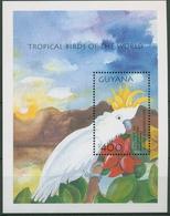 Guyana 2001 Tropische Vögel Papagei Block 725 Postfrisch (C94335) - Guyana (1966-...)