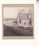 TUNISIE EL JEM 1923 Ruines Romaines  Photo Amateur Format Environ 5 X 3,5 Cm - Luoghi