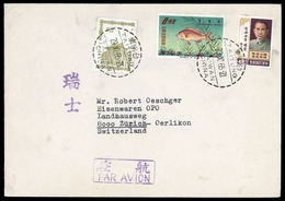 1965, China Taiwan, 576, 587 U.a., Brief - Taiwan (Formose)