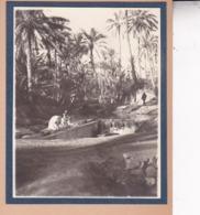 TOZEUR TUNISIE Le Lavoir 1923. Photo Amateur Format Environ 5,5 Cm X 5 Cm - Luoghi