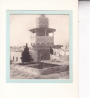 TUNISIE TUNISmosquée SIDI YOUSSEF 1923. Photo Amateur Format Environ 5,5 Cm X 5 Cm - Luoghi