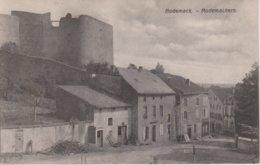57 - RODEMACK - VUE D'UNE RUE + CHATEAU - France