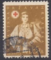 CROAZIA - 1942 - Yvert 67 Usato. - Croacia