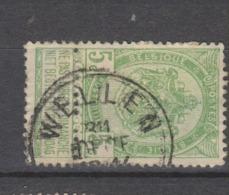 COB 56 Oblitération Centrale WELLEN - 1893-1907 Coat Of Arms