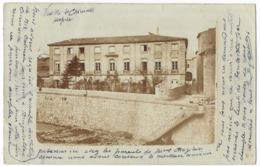 Saint Chinian Rare Carte Photo Vue De L' Hospice - Sonstige Gemeinden
