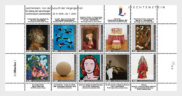 Liechtenstein 2019 - The Future From The Past - Collection Sheet - Liechtenstein